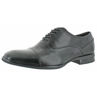 Calvin Klein Men's Carlton Leather Dress Oxford Shoes