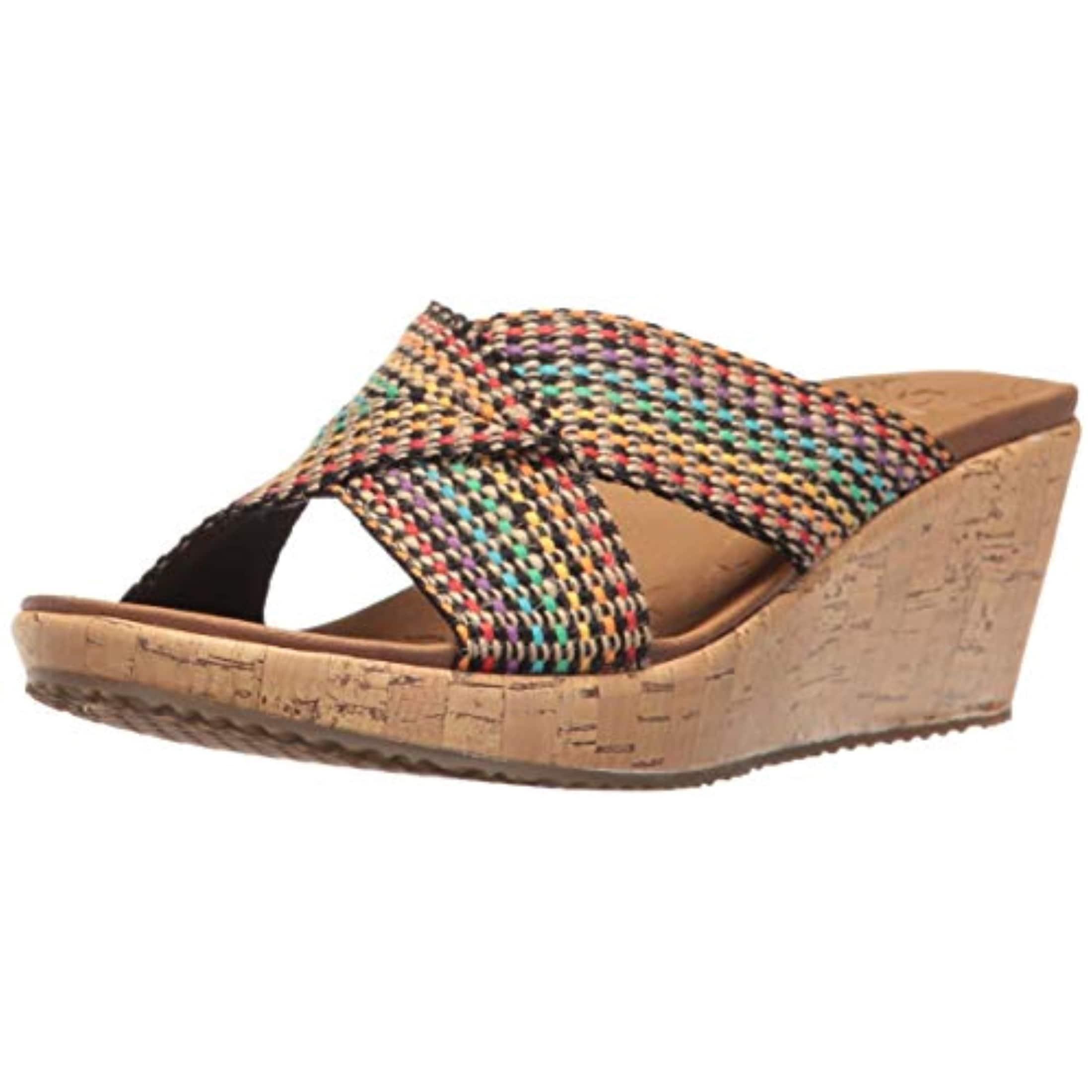 Beverlee Delighted Wedge Sandal, Multi