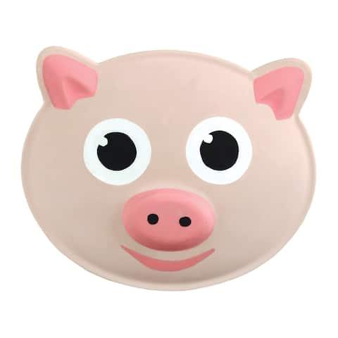 Kikkerland Talking Pig Bag Clips - Set of 3 Chip Clips - Say Oink when Opened - Pink