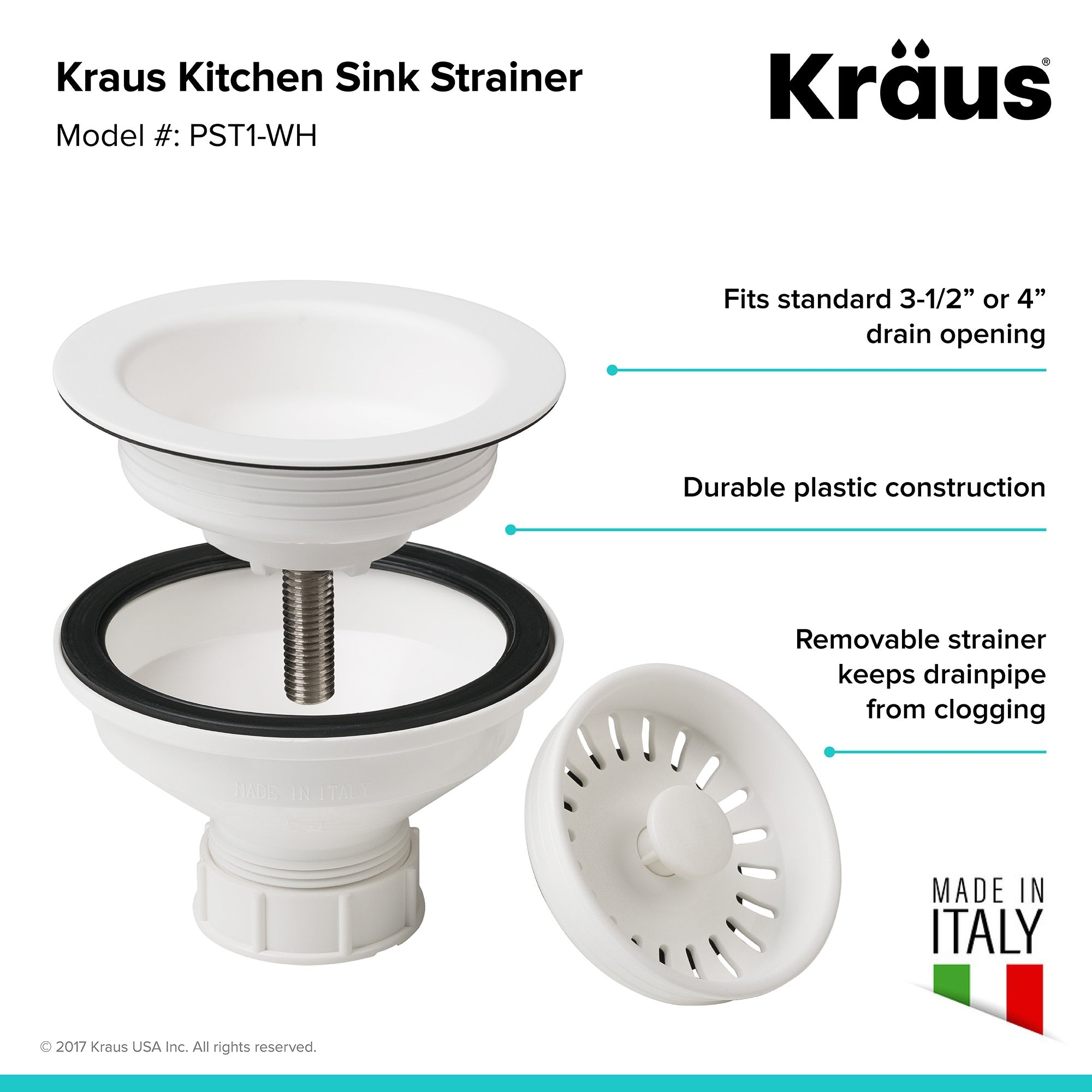 Kraus Pst 1 Kitchen Sink Strainer