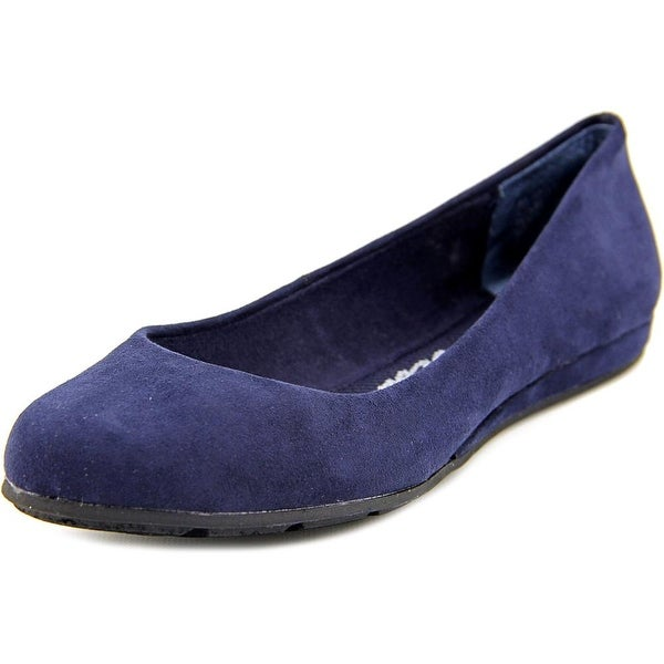 American Rag Ellie Women Round Toe Synthetic Blue Flats