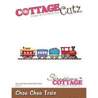 "Cottagecutz Die-Choo Choo Train 5""X1"""