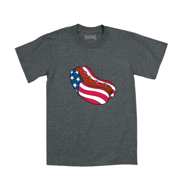 6be6b4cb1b Patriotic Hot Dog Bun Usa Youth T-Shirt
