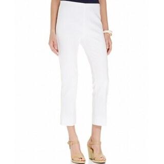 Karen Kane NEW Bright White Women's Size 10 Ankle Length Dress Pants