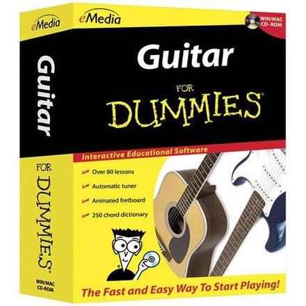 eMedia FD12091 Guitar for Dummies Software