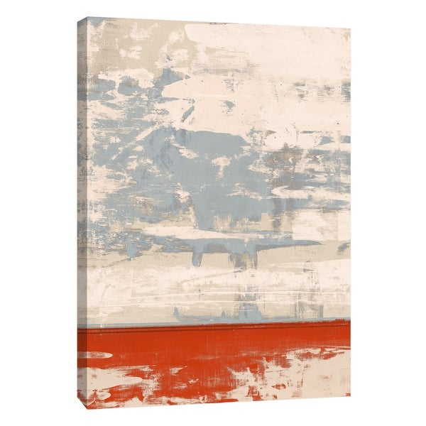 """PTM Images 9-105299 PTM Canvas Collection 10"""" x 8"""" - """"Squeegeescape 22"""" Giclee Abstract Art Print on Canvas"""