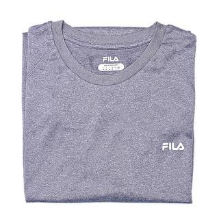 Fila Performance Sleeveless Crew Neck Tee Men Regular Basic T-Shirt
