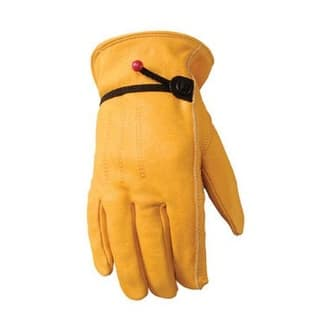 Wells Lamont 1132XL Unlined Cowhide Full Leather Driver Glove, XL