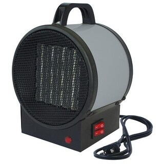 King Electric PUH1215T Personal Utility Heater - Black/Grey