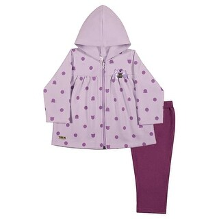 Baby Girl Outfit Hoodie Jacket and Leggings Set Infants Pulla Bulla 3-12 Months