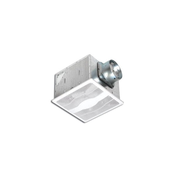 Air King E80D 80 CFM 0.3 Sones Dual-Speed Exhaust Fan with BOOST Setting and Energy Star Rating from the Eco Exhaust Series