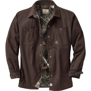 Legendary Whitetails Men's Creek Bed Canvas Shirt Jacket