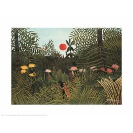 ''Virgin Forest'' by Henri Rousseau Museum Art Print (24 x 30 in.)