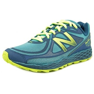New Balance WTHI Women D Round Toe Synthetic Blue Trail Running