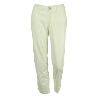 Ralph Lauren Women's Flat Front Pants - White
