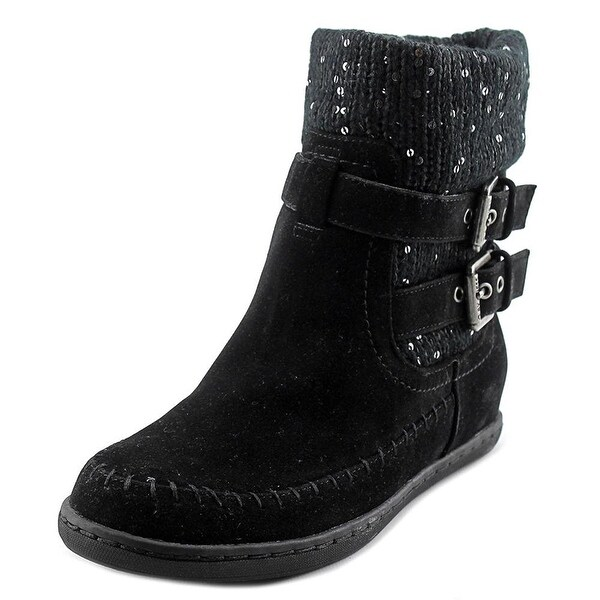 G by Guess Womens RIESLING Round Toe Ankle Cold Weather Boots