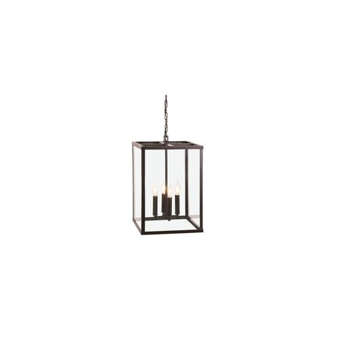 """JVI Designs 3041 Union Square 4 Light 20"""" Large Pendant with Hand Blown Glass Shade"""