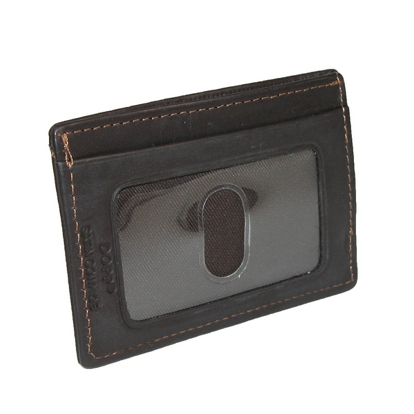 DOPP Men's Leather Money Clip and Card Holder Wallet - One size