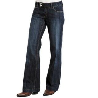 Stetson Western Denim Jeans Womens Trouser Royal