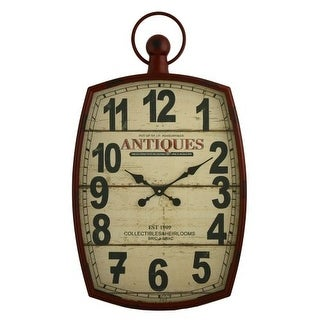 Aspire Home Accents 5455 Annalise Pocket Watch Wall Clock