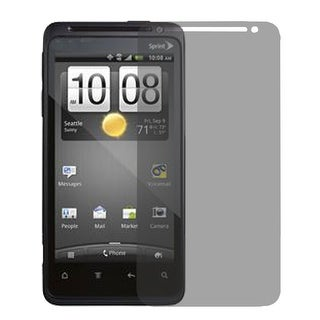 Unique Bargains Clear Gray Privacy Screen Protectors Shield Guard Film for HTC EVO 4G