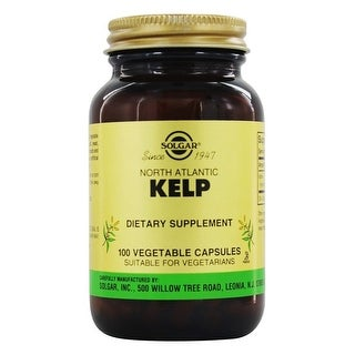 Solgar North Atlantic Kelp Vegetable Capsules 100