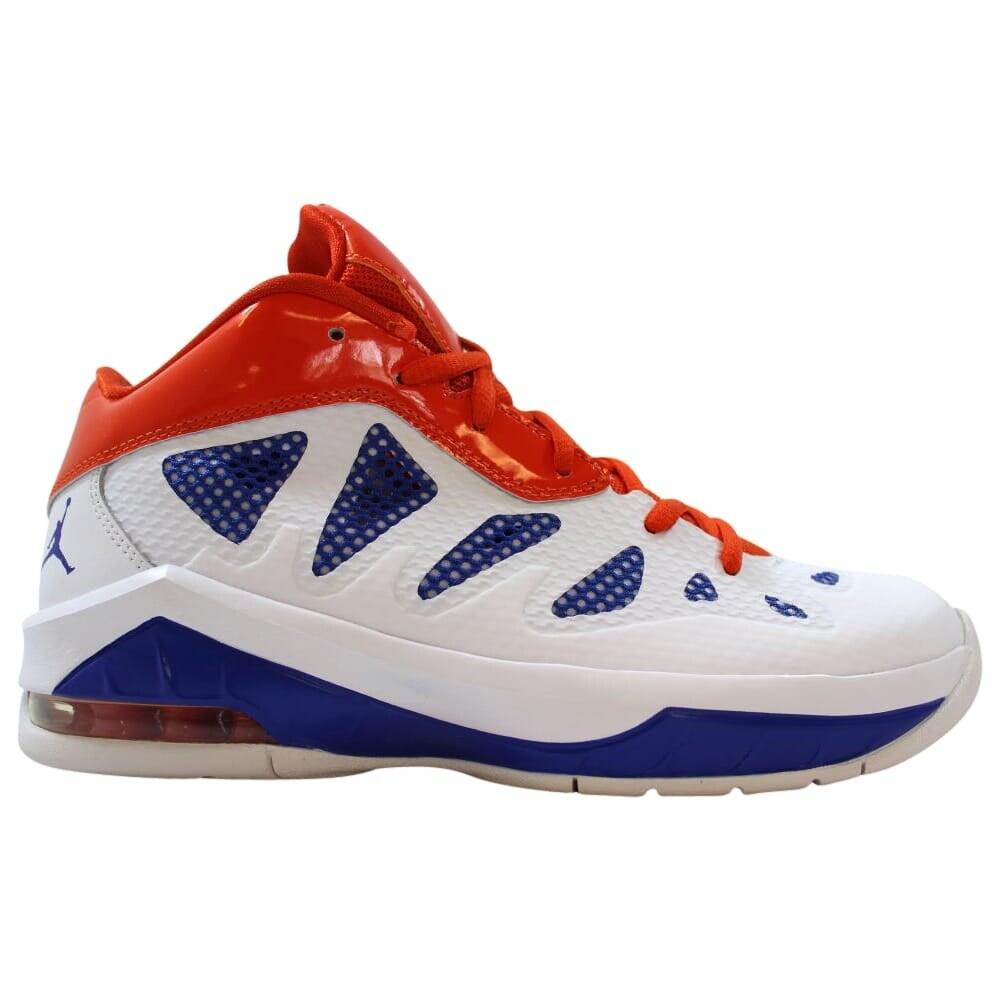 Nike Air Jordan Melo M8 Advance WhiteGame Royal Team Orange 542250 117 Grade School