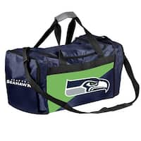 697a28dcc336 Forever Collectibles Licensed NFL Two Tone Duffle Bags for Seattle Seahawks