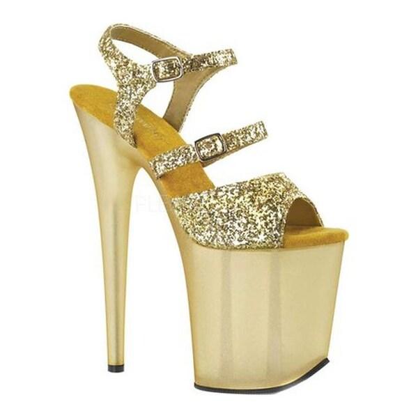 08df88495b48 Shop Pleaser Women's Flamingo 874 Ankle Strap Sandal Gold