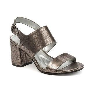 Andrew Geller Saleem Women's Sandals & Flip Flops Pewter