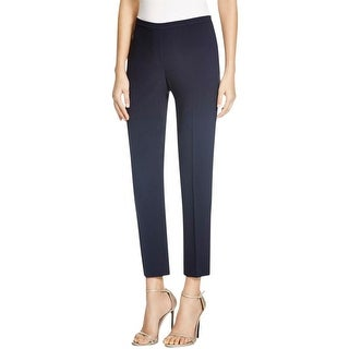 Elie Tahari Womens Marcia Dress Pants Knit Side Zip