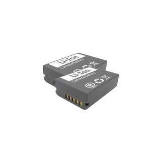 Replacement Battery for Olympus BLN1 (2 Pack)