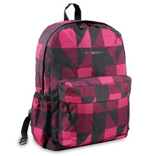 J World New York  Oz Day Backpack, Block Pink
