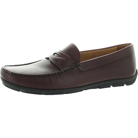 Vince Camuto Mens Iven Oxfords Leather Toe Cap