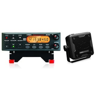 Uniden BC355N Scanner w/ BC23A External Speaker