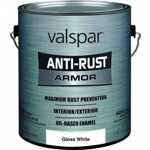 Valspar 21800G Gloss White Enamel - 1 Gallon - gloss white