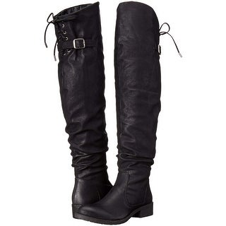 e12283f1c3a Shop Very Volatile Womens DAJA Closed Toe Over Knee Fashion Boots - Free  Shipping On Orders Over $45 - Overstock - 23125359