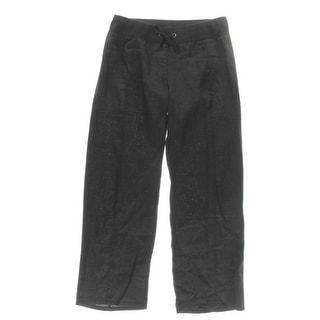 Eileen Fisher Womens Petites Wide Leg Pants Linen Drawstring - pm