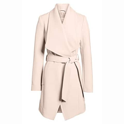 T Tahari Women's Abbey Draped Wrap Coat (XL)