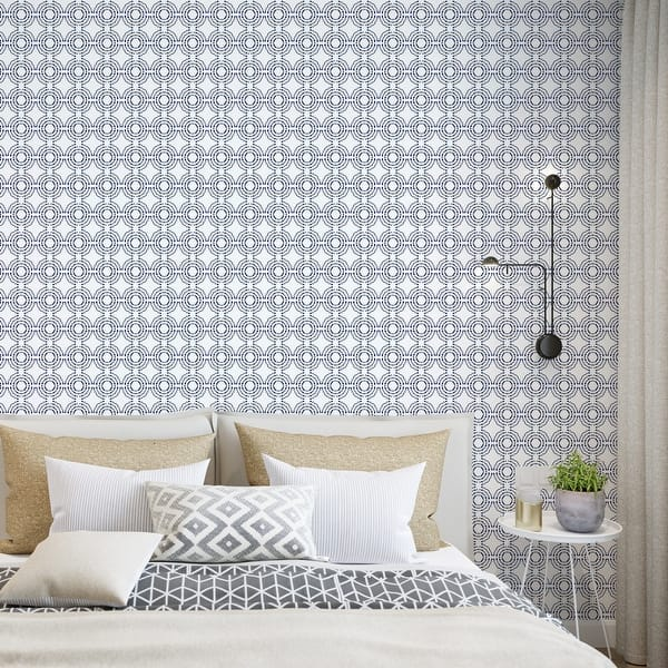 Shop Sbc Decor Sweet Dreams Removable Peel Stick Vinyl Wallpaper Panel On Sale Overstock 32029306