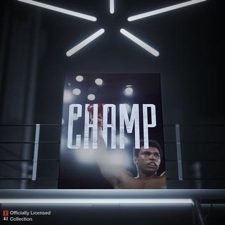 IKONICK Muhammad Ali - Champ Canvas Art