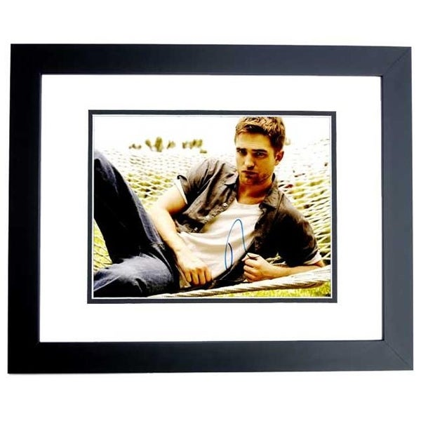 Shop Twilight Actor Team Edward Robert Pattinson Signed Autographed ... cb11587aa05e