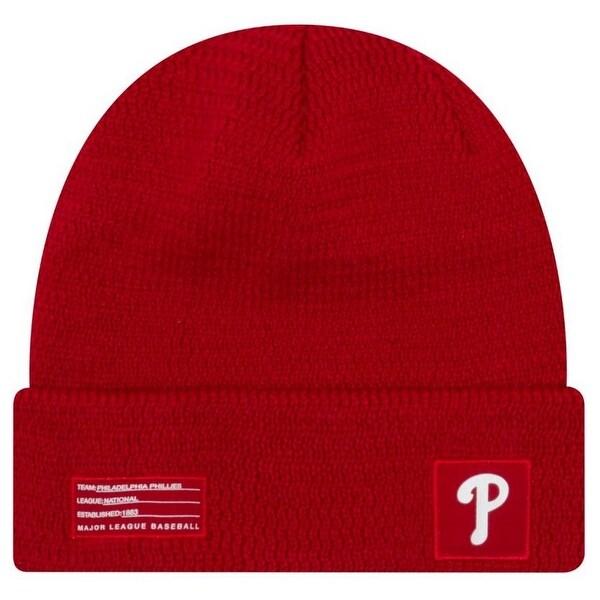 d7f5cf00 Shop New Era MLB Philadelphia Phillies Sport Stocking Knit Hat Beanie Cuff Skull  Cap - Free Shipping On Orders Over $45 - Overstock - 27341172