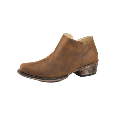 Roper Western Boots Womens Sofia TPR Outsole Brown