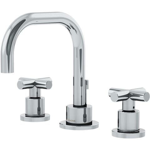 Symmons SLW-3512-H3-1.0 Dia 1 GPM Widespread Bathroom Faucet with - Chrome