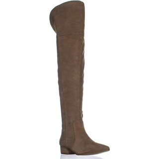 Splendid Ruby Over The Knee Zip Up Boots, Taupe