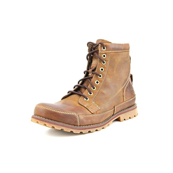Timberland Earthkeepers 6 in Orginal Men  Round Toe Leather Brown Work Boot