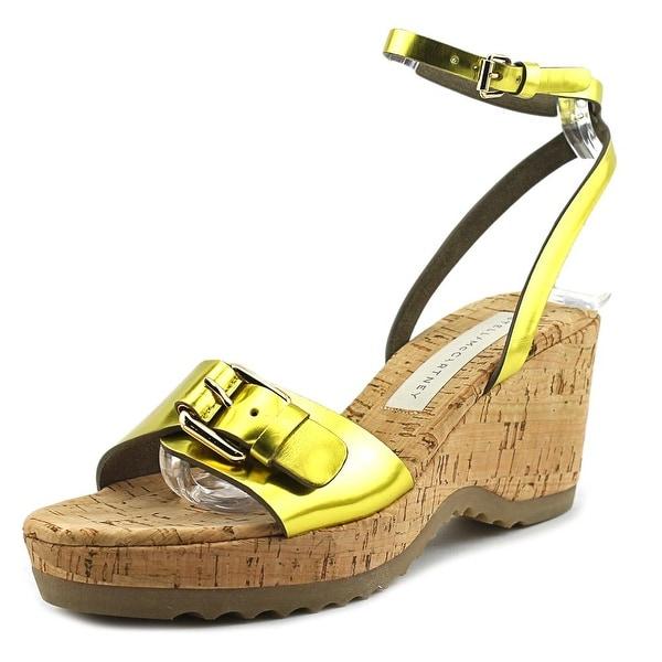 Stella McCartney Gemini Women Steel Citron Sandals