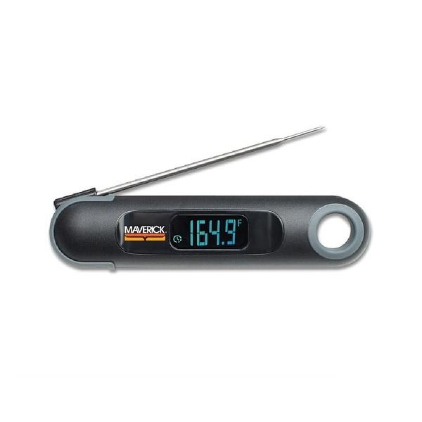 Maverick PT-75 Temperature & Time Instant-Read Thermometer, Black
