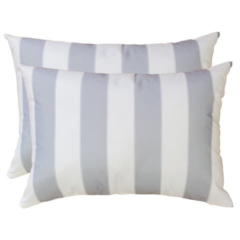 Olivia Stripe Outdoor Pillow